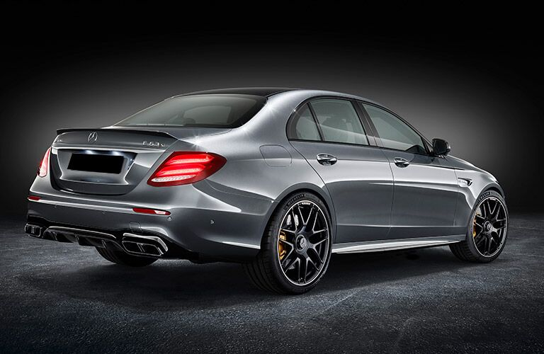 2018 Mercedes-AMG E63 Sporty Exterior Features