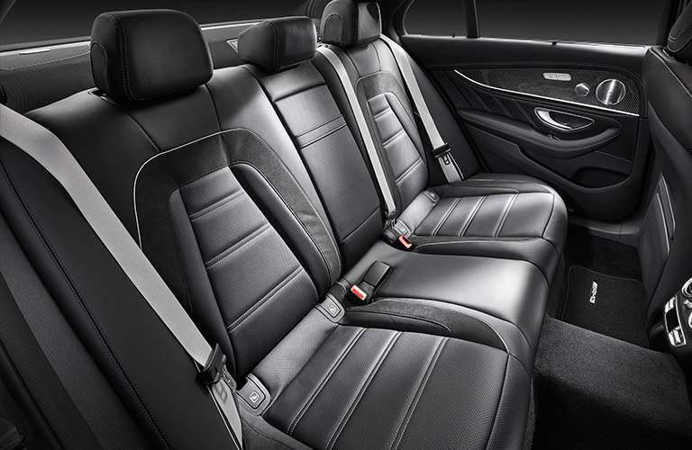 2018 Mercedes-AMG E63 interior second row seating