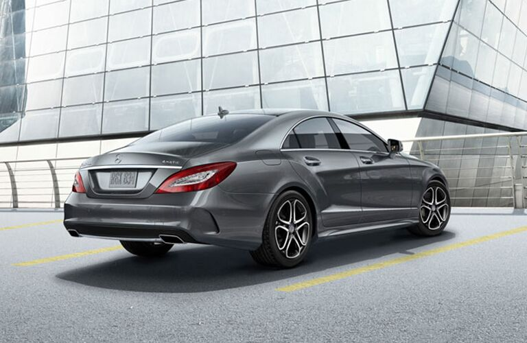rear view of the 2018 Mercedes-Benz CLS