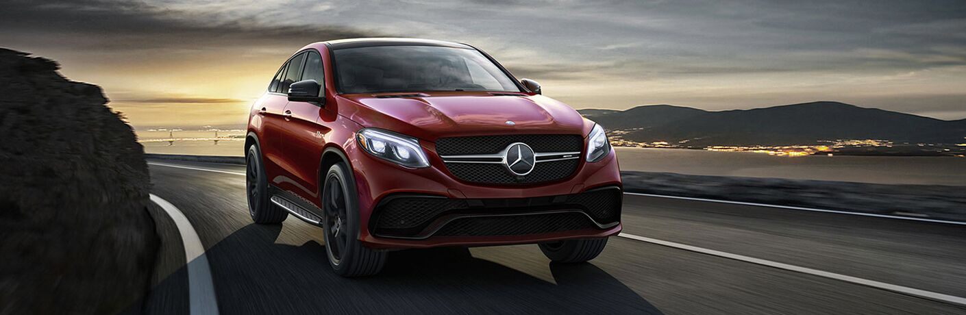 exterior front of the 2018 Mercedes-Benz GLE 350 4MATIC