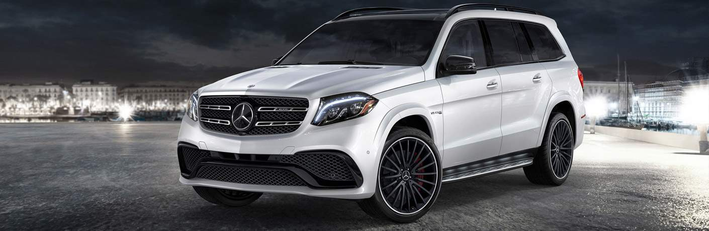 full view of the 2018 Mercedes-Benz GLS SUV