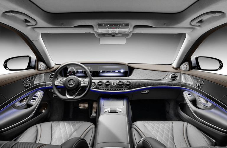 2018 Mercedes-Benz S-Class Sedan interior front