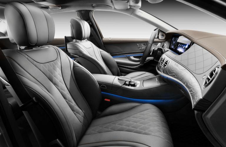 2018 Mercedes-Benz S-Class Sedan interior front seats