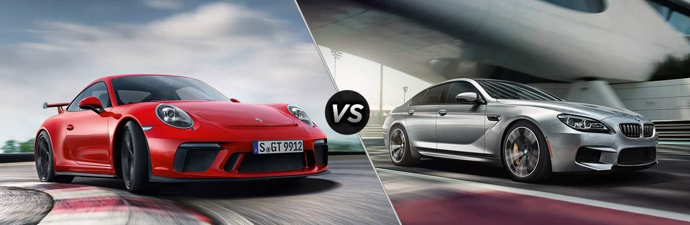 2018 Porsche 911 GT3 Coupe vs 2018 BMW M6
