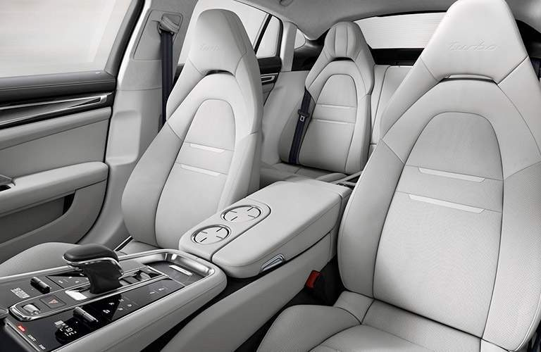 2018 Porsche Panamera interior seating area