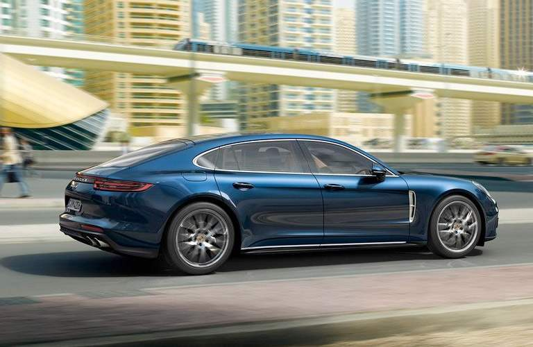 2018 Porsche Panamera profile side
