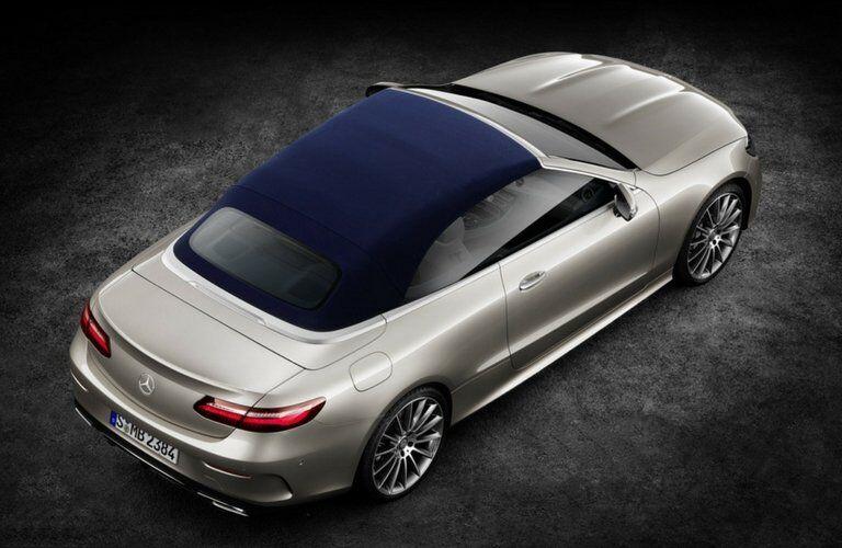2018 Mercedes-Benz E-Class Cabriolet  top up
