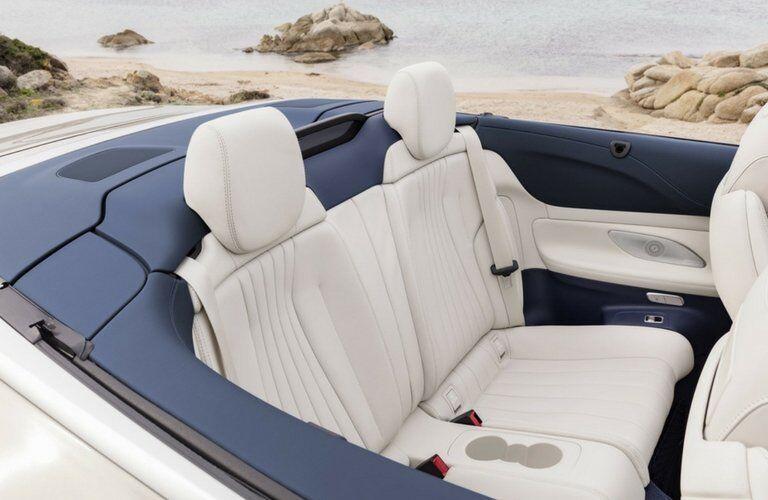 2018 Mercedes-Benz E-Class Cabriolet interior back