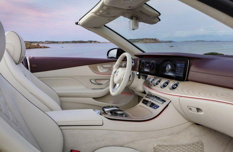2018 Mercedes-Benz E-Class Cabriolet interior front