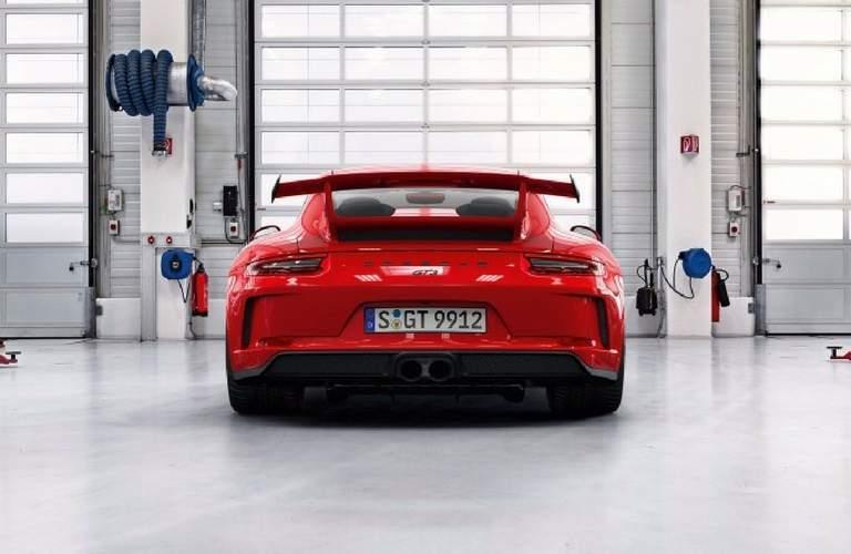 2018 Porsche 911 GT3 exterior rear