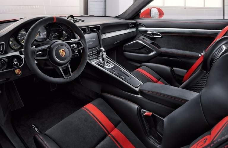 2018 Porsche 911 GT3 interior front