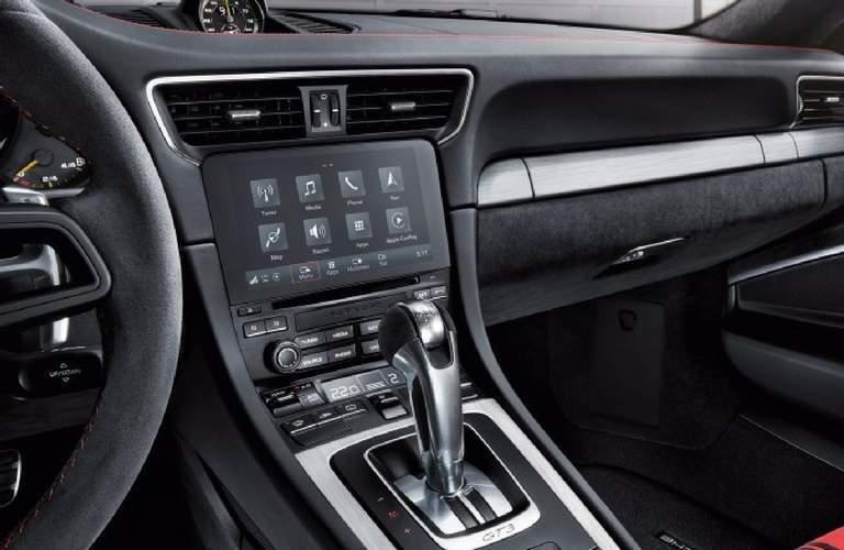 2018 porsche 911 gt3 interior infotainment system