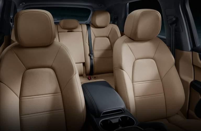 2018 Porsche Cayenne interior second row seat