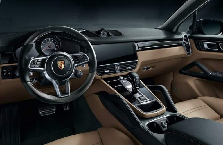 2018 Porsche Cayenne interior front