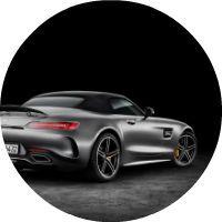 2018 Mercedes-AMG GT C dual clutch transmission