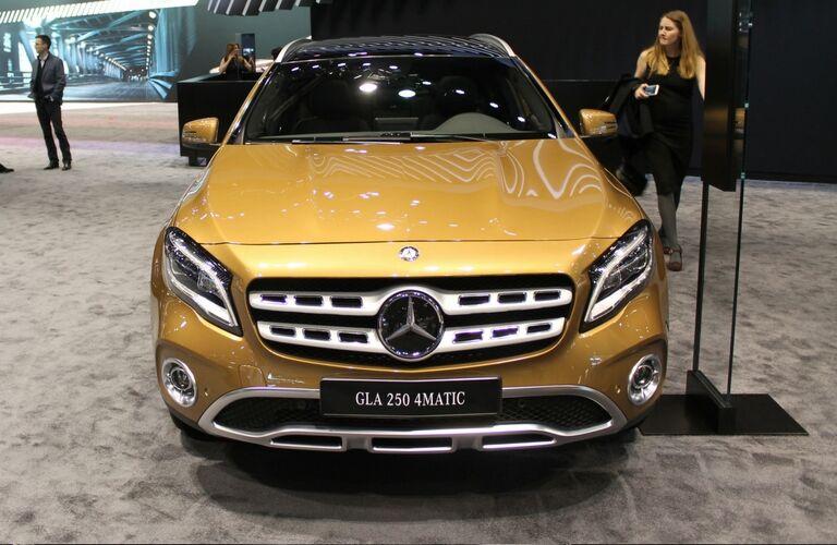 2018 Mercedes-Benz GLA-Class exterior front view
