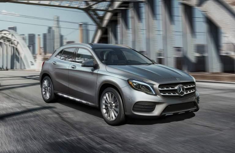 2018 Mercedes-Benz GLA exterior front