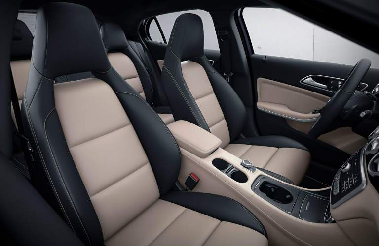 2018 Mercedes-Benz GLA interior seats