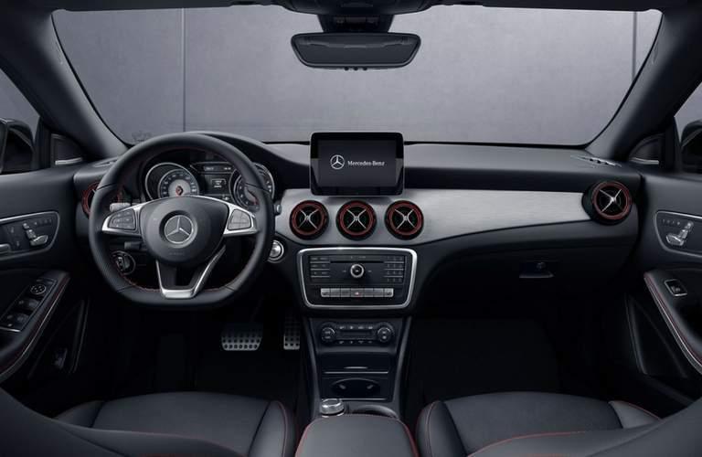 2018 Mercedes-Benz amg CLA 45 interior front