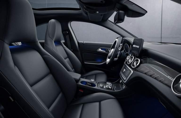 2018 Mercedes-AMG CLA 45 interior front seats