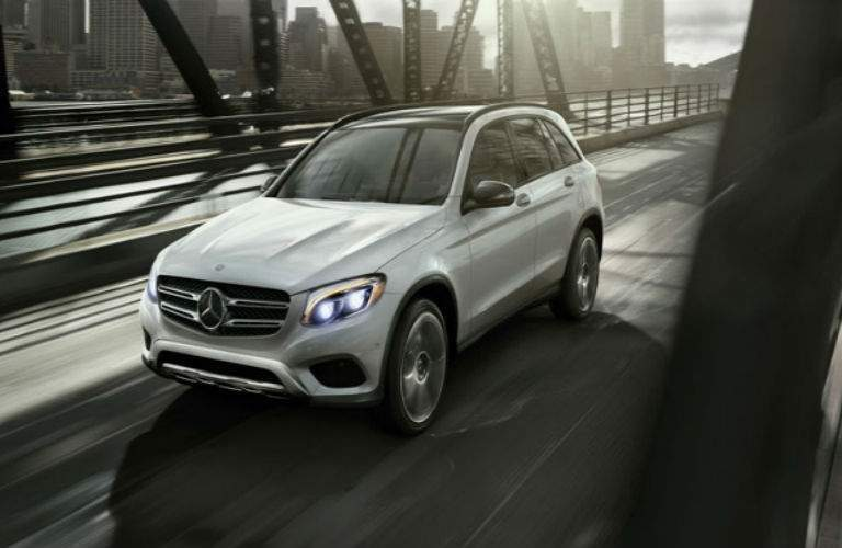 exterior front of the 2018 Mercedes-Benz GLC