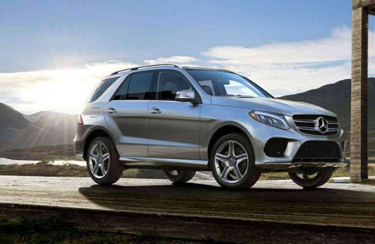 2018 Mercedes-Benz GLE exterior side view