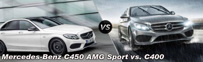 2016 Mercedes-Benz C450 vs 2015 Mercedes-Benz C400
