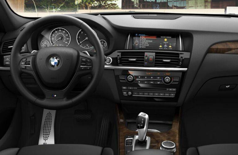 2016 BMW X3 Interior vs. Mercedes-Benz GLC Interior