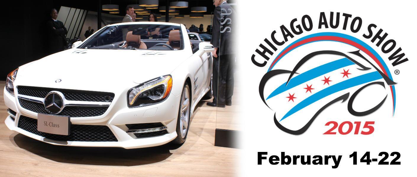 Mercedes-Benz Porsche Chicago Auto Show 2015