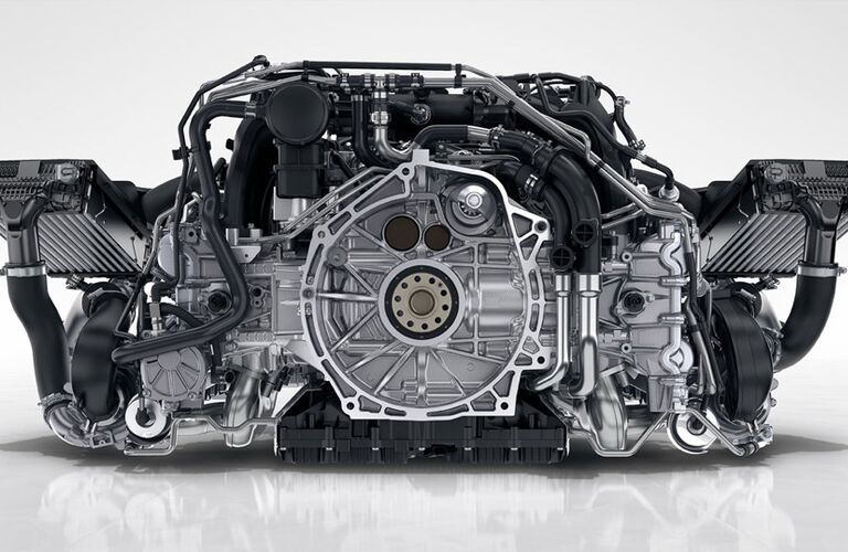 2017 Porsche 911 Carrera 4 new turbocharged engine