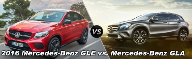 2016 Mercedes-Benz GLE vs Mercedes-Benz GLA