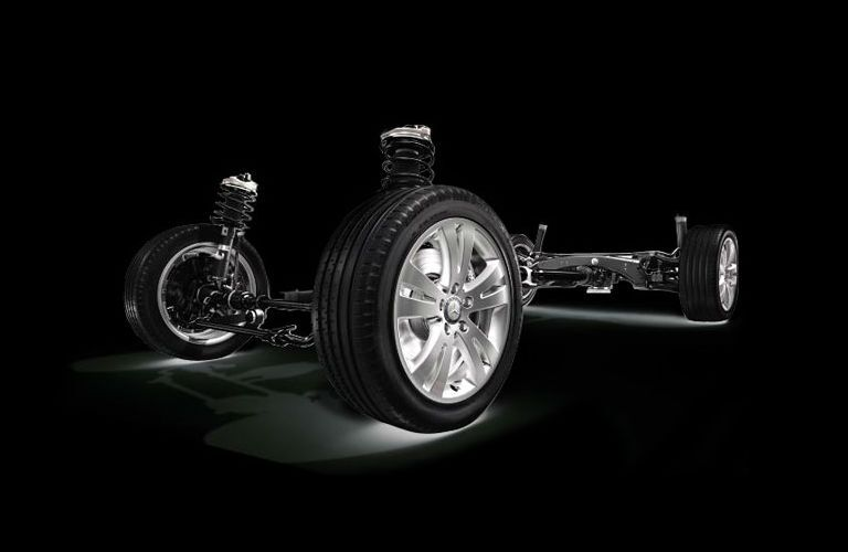 Mercedes-Benz 4MATIC AWD Mechanism Loeber Motors