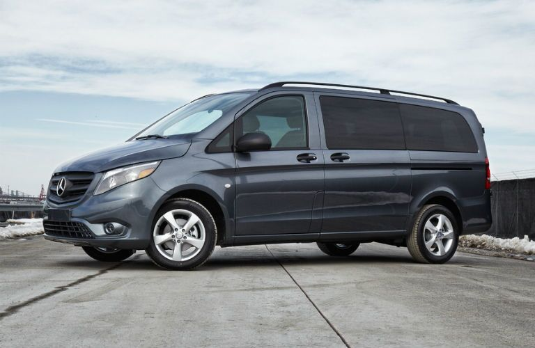 full view of the 2018 Mercedes-Benz Metris Cargo Van