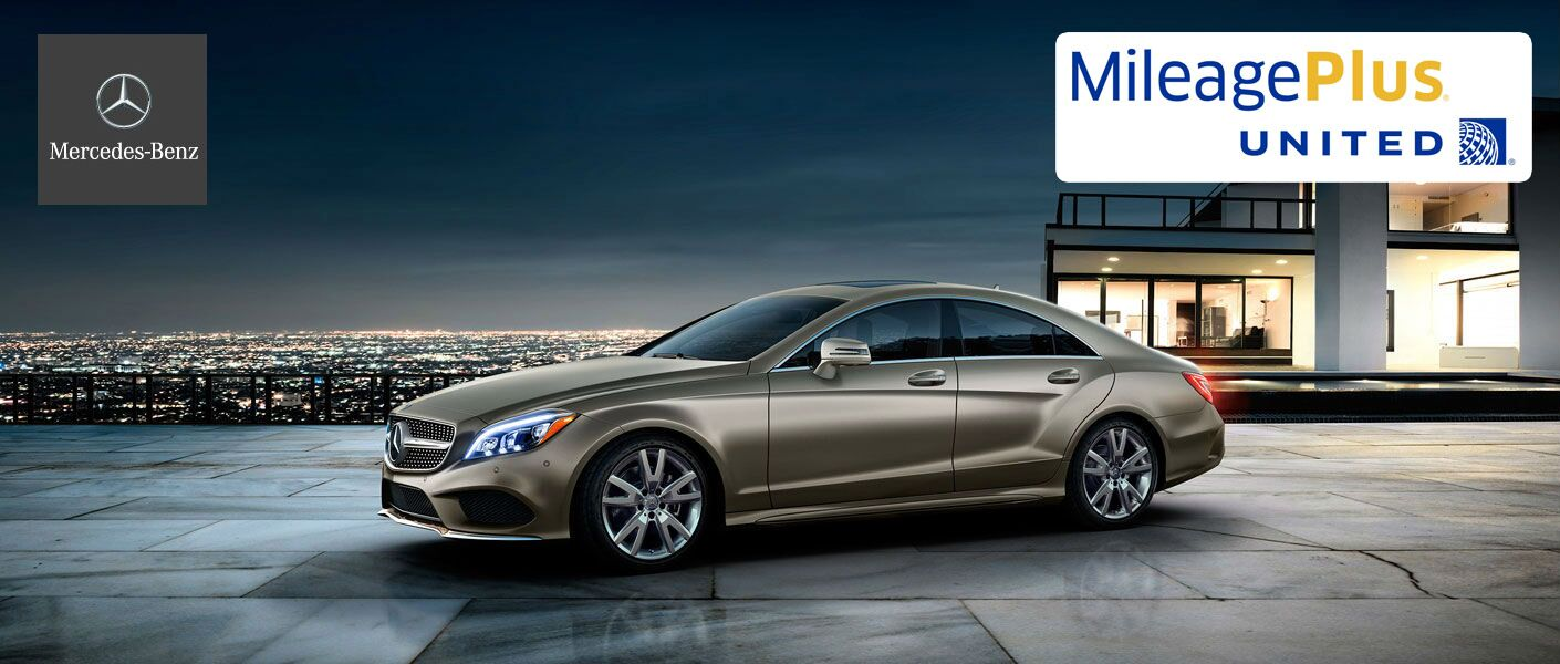 Mercedes-Benz Discounts United Airlines MileagePlus Members
