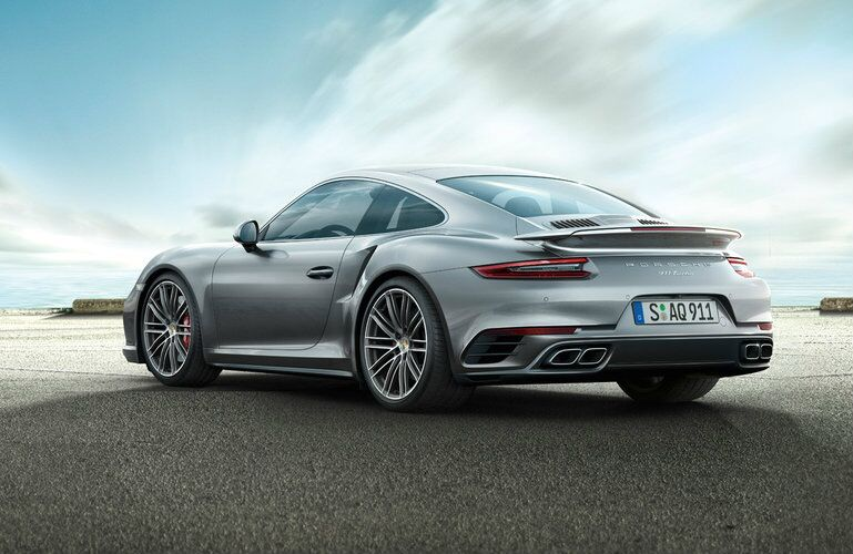 2017 Porsche 911 Turbo Redesigned Rear End