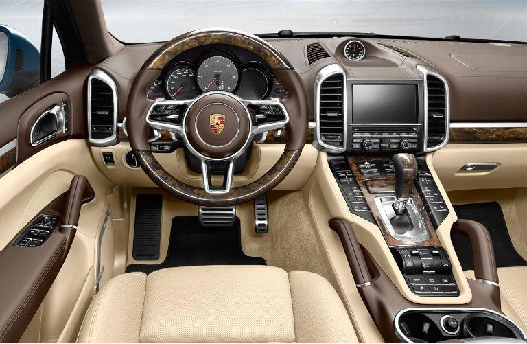 Porsche Cayenne Diesel Interior Infotainment