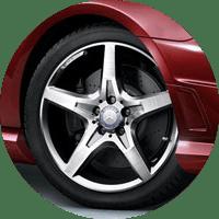 2016 Mercedes-Benz SLK-Class Wheels
