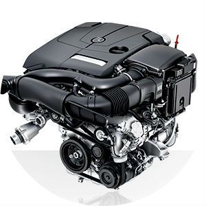 2017 Mercedes-Benz C300C engine