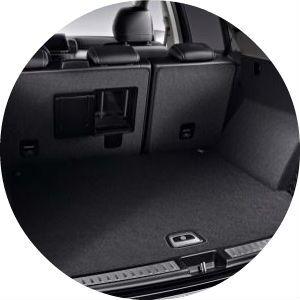 2017 Mercedes-Benz GLE cargo space