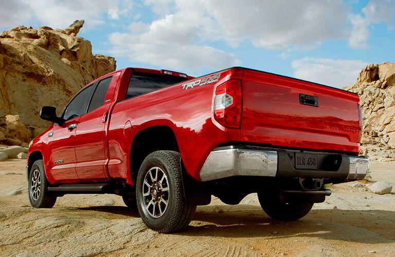 2014 Toyota Tundra exterior profile