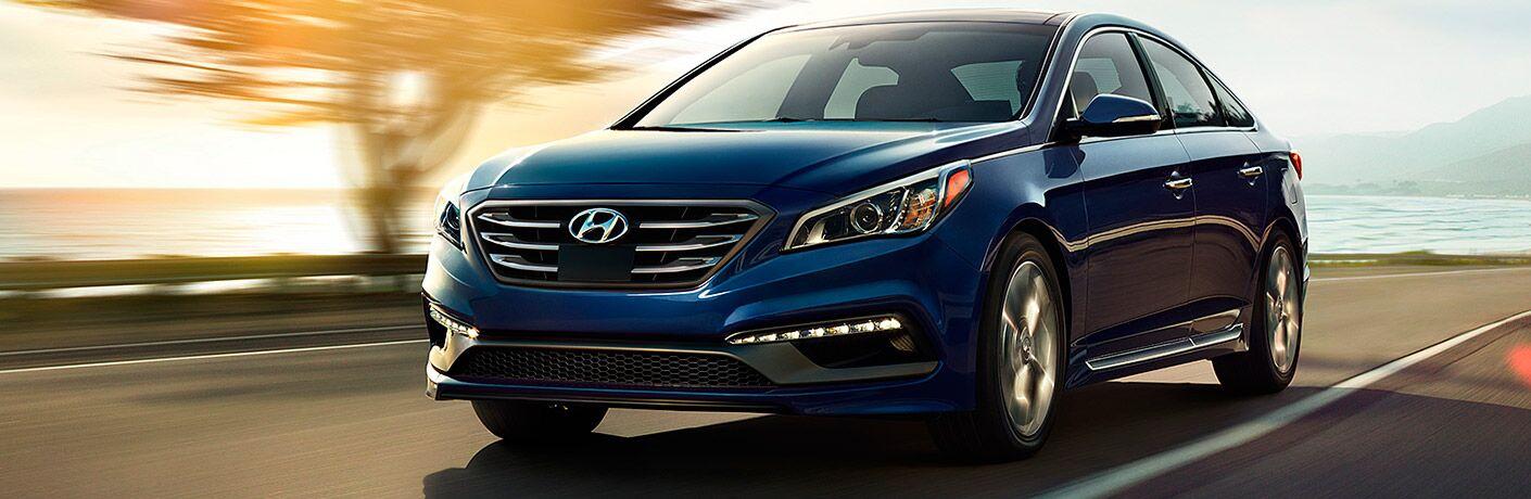 2017 Hyundai Sonata Exterior Driver Side Front Angle