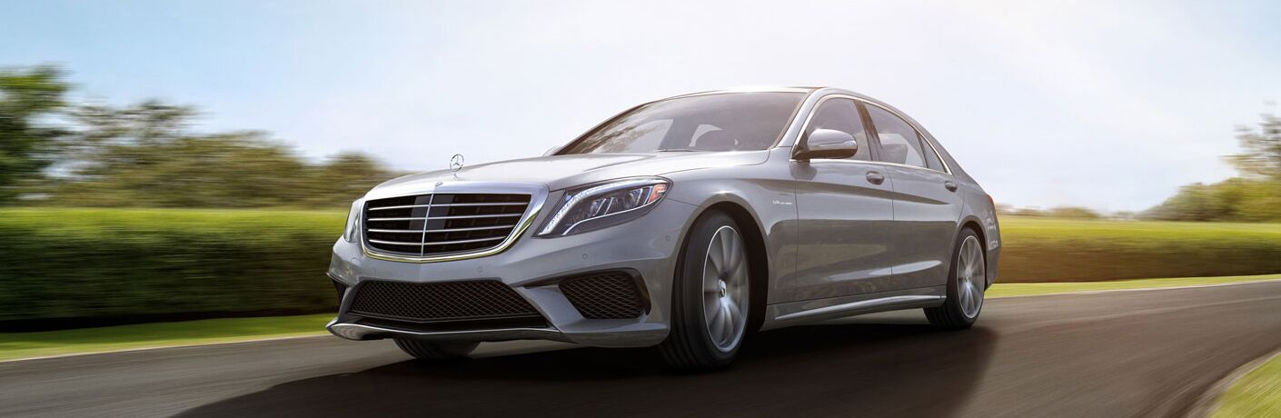 2017 Mercedes-Benz S-Class Sedan Exterior Driver Side Front Profile