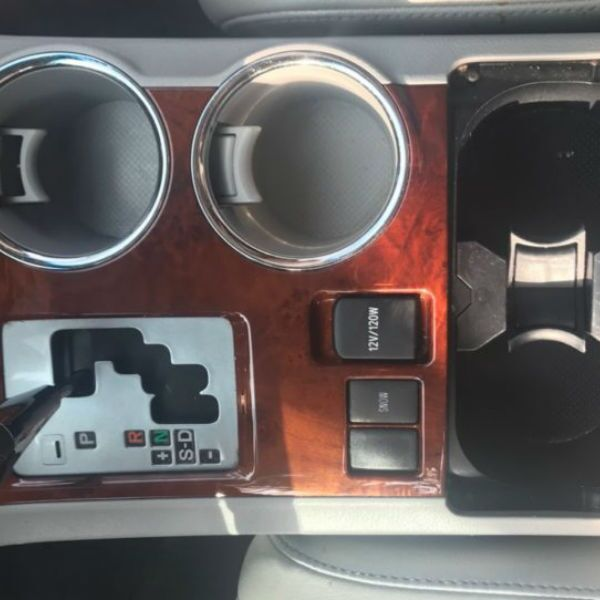 After Image of Center Console Cup Holders