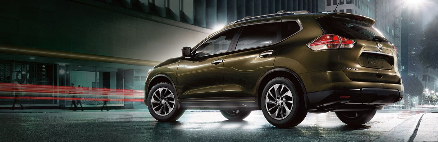 2016 Nissan Rogue Exterior Driver Side Rear Profile