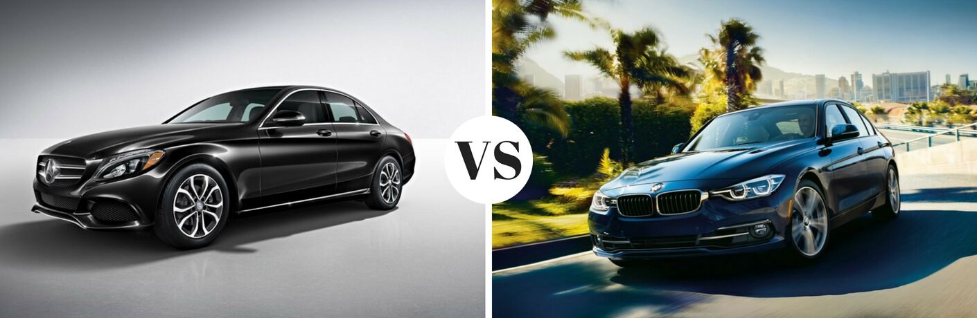 2017 Mercedes-Benz C-Class vs 2017 BMW 3 Series