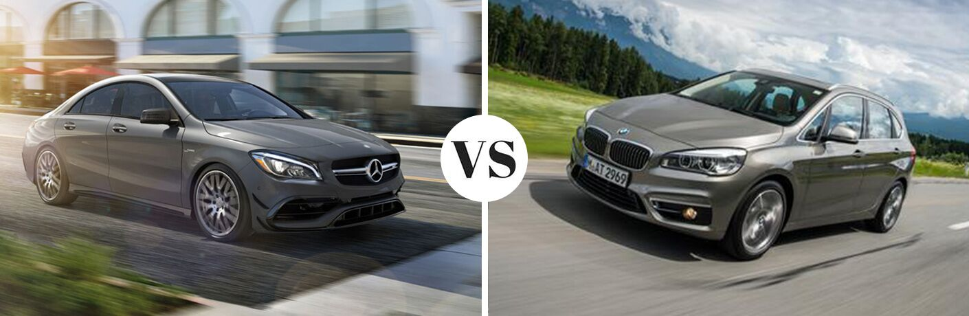 2017 Mercedes-Benz CLA 4MATIC® vs 2017 BMW 2-Series