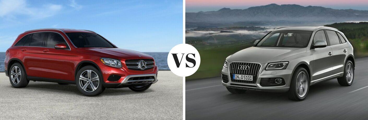 2017 Mercedes-Benz GLC 4MATIC® vs 2017 Audi Q5