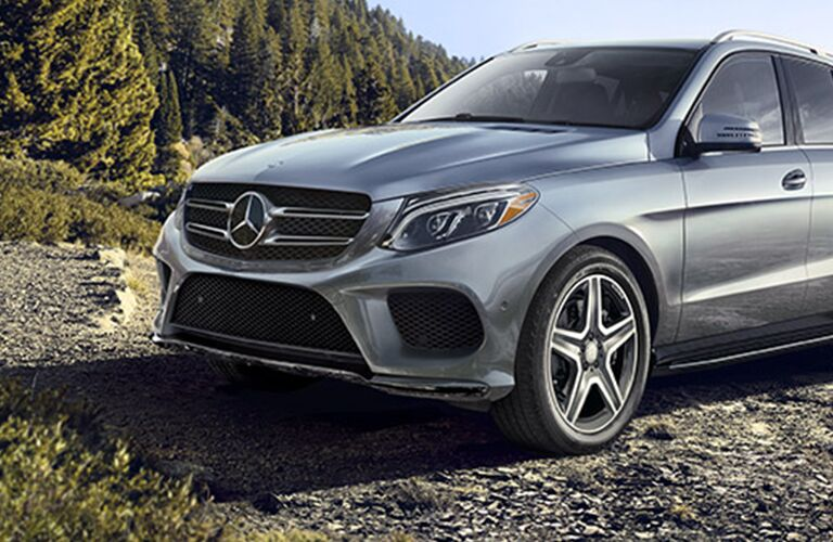 2017 Mercedes-Benz GLE SUV 4MATIC® off-road capability