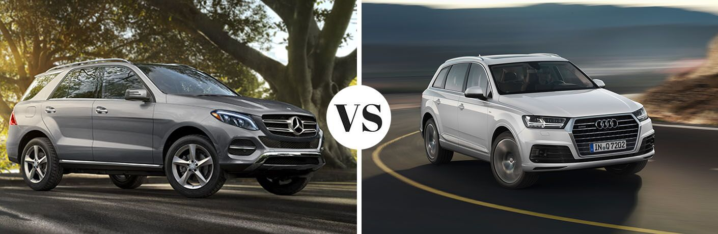 2017 Mercedes-Benz GLE SUV 4MATIC<sup>®</sup> vs 2017 Audi Q7