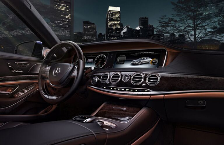 2017 Mercedes-Benz S-Class leather seating surfaces